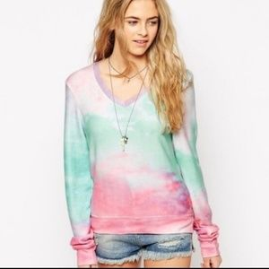 WILDFOX soft sweater heaven clouds pullover